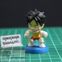 Monkey D. Luffy Anichara MBH Mini Big Head One Piece Action Figure