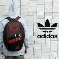 Tas Ransel,sekolah,olahraga,sport,gendong murah adidas brown merah