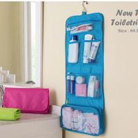 New Travel Toiletries Bag (Bahan anti air, bisa digantung).