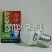 Lampu Tidur LED Ekonomat Deko 1 Watt - Putih (Daylight)