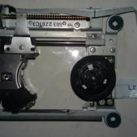 optik ps2 slim + mekanik (motor optik)