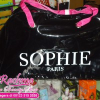 TAS SANTAI ASLI SOPHIE PARIS DISKON 30% PRUNE BIG BAG MODERN CASUAL