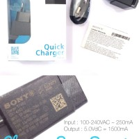 Charger Sony Ericson Xperia Seri EP881 Original 100%