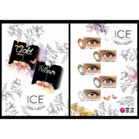 Softlens X2 Exoticon ICE Gold / ICE Silver