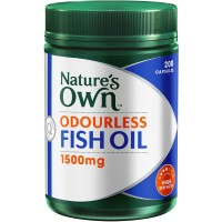Omega 3 Odourless Nature's Own Fish Oil 1500 Isi 200 Cap