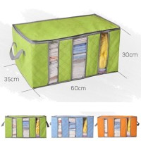 [s21]STORAGE BOX 65 liters bamboo charcoal clothing boxes 3 layer baju