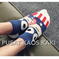kaos kaki korea impor import korean socks superhero batman superman