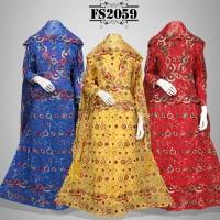 Baju Pesta Sari India FS2059 + Selendang