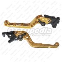 Handel - Handle - Tuas Rem BAD Beat CW - Karbu 110 cc Stelan Jari Gold