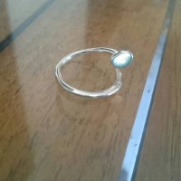 cincin paku perak bali free size