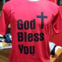 KAOS ROHANI GOD BLESS YOU