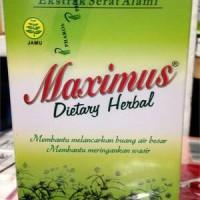 MAXIMUS Dietary Herbal: Melancarkan BAB, melangsingkan badan!