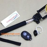 Tongsis+Holder U Jumbo+Tomsis Bluetooth+Universal Clip Fisheye