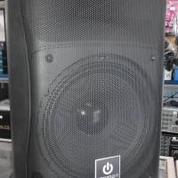 Portable speaker 12inch crimson usb + 2bh wireless microphone