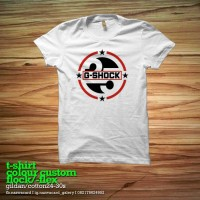 kaos/tshirt/gildan/watch/g shock/sablon/custom
