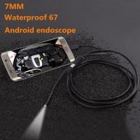 Android Camera Endoscope 720P IP67 Waterproof Kecil mini Kabel OTG