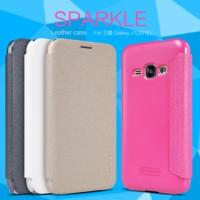 Flip Case Nillkin Samsung J1 2016 Sparkle Series