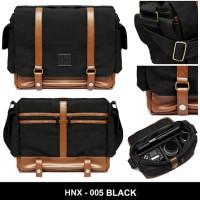 "Tas Kamera Slempang Honx Hnx-005 Black Laptop 13"""