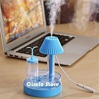 Alat Pelembab Ruangan / Aromatheraphy Air Diffuser Humidifier Lamp