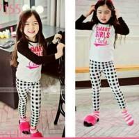 Setelan Baju fashion Anak Import merk GW155-E