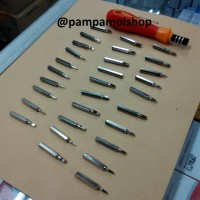 Obeng Set 31 in 1 Minus Plus Bintang FDT | Ganti Casing Kecil