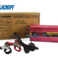 Charger aki 36A SUOER DC-1236A ( Digital charger / Engine Starts )