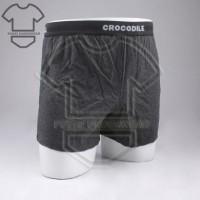 Boxer pria CROCODILE 001 ISI 2   Celana dalam pria CR 555-001