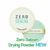 Etude House - Zero Sebum Drying Powder NEW