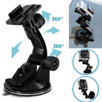 Flat Mount Car Holder Mobil Action Camera Suction Cup Xiaomi Yi GoPro