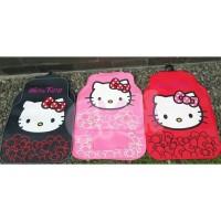 karpet mobil hello kitty pita