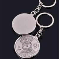 Keychain Gantungan Kunci Model Kalender 2007-2056 calendar