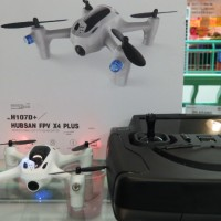 Drone Quadcopter Hubsan H107D+ Monitor FPV 4inch and Hold Altitude