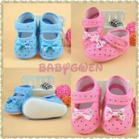 sepatu prewalker bayi anak perempuan
