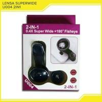 Lensa Superwide 2in1 ( Superwide + Fisheye )