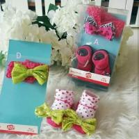 Baby Socks & Bandana Set
