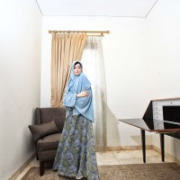 Gamis Lily Blue