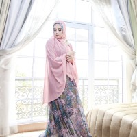 Gamis Lily Pink