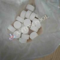 Kaporit Tablet 90% (kecil)/ Chlorine Tablet 90% (small) 500 gram