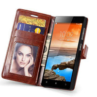 Lenovo Vibe X2 Flip Cover Leather Wallet Case Casing Retro