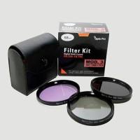filter kit mod.3 (cpl+nd8+fld) 49mm,52mm,55mm