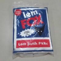 LEM FOX SACHET BIRU 600GR/ lem white latex glue wegabond slime thai