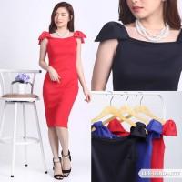 Nageedah Plain Bodycon Mini Dress