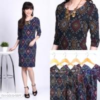 Ameetysa Batik Bodycon Mini Dress