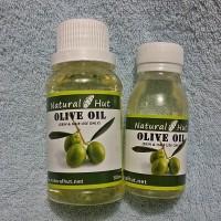 Pure Olive (Zaitun) Oil 60ml - Cosmetic Grade Cold Pressed