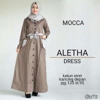 Aletha dress Mocca