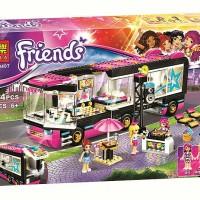 Lego Compatible Bela 10407 Friends Pop Star Bus 684pcs