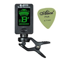 Bonus Pick Gitar Alice..!!! Tuner Guitar JOYO JT-01