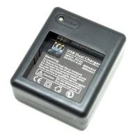 Dual Battery Charger for Xiaomi Yi Battery / dual batere / baterai