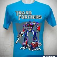 Kaos Transformers Autobot Optimus Prime Plus Truck Uk. Anak No.0,1,2