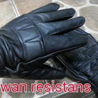 sarung tangan kulit asli garut ,sarung tangan motor